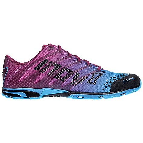 Camp and Hike Free Shipping. Inov 8 Women's F-Lite 185 Shoe DECENT FEATURES of the Inov 8 Women's F-Lite 185 Shoe Weight: 6.5 oz / 185 g Fit: Performance Upper: Synthetic, TPU Lining: Mesh Footbed: 3mm Midsole: Injected EVA Shoc-Zone: 1 Differential: 3mm Sole: F-Lite Compound: Sticky - $119.95