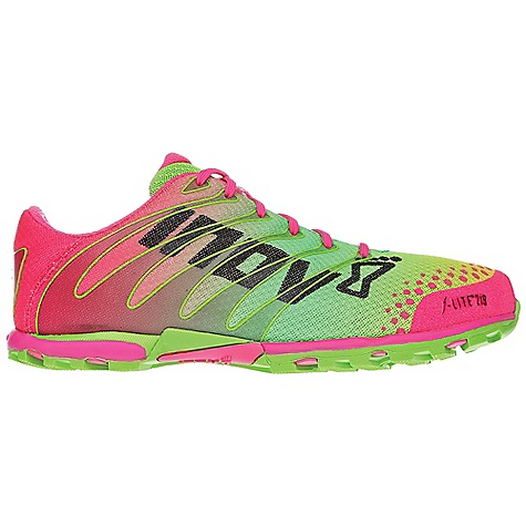 Camp and Hike Free Shipping. Inov 8 Women's F-Lite 219 Shoe DECENT FEATURES of the Inov 8 Women's F-Lite 219 Shoe Weight: 7.7 oz / 219 g Fit: Anatomic Upper: Synthetic, TPU Lining: Mesh Footbed: 3mm Midsole: Injected EVA Shoc-Zone: 0 Differential: 0mm Sole: F-Lite Anatomic Compound: Sticky - $119.95