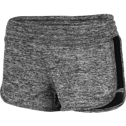 Surf Pull on the Hurley Women's Bandit Beachrider Short before you set off to meet your friends at the marina for some quality boating time. Made with Nike's Dri-Fit fabric, these beacrider fit shorts feel extra comfortable against your skin, dry wicked quickly when wet, and help to move moisture away from your body for increased comfort. - $29.45