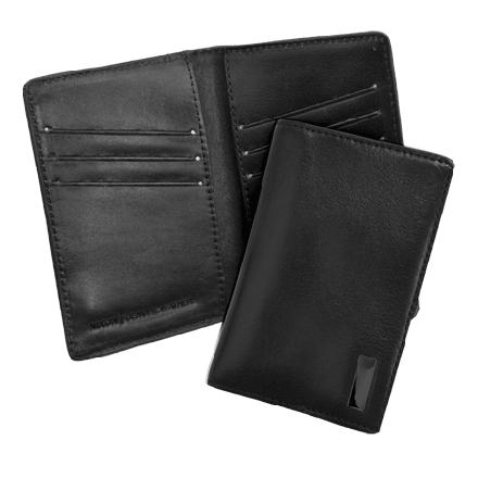 Don't carry a George wallet; slip your essentials into the Nixon Suzaka Card Wallet. This Nixon wallet's eight credit card slots give you plenty of room for your plastic and ID. Nixon made this low-profile card holder with smooth, durable Italian leather. - $34.95