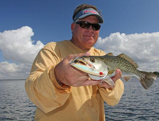Fishing Topwater Trout Fishing Tactics and Tips.  Article by David A. Brown on May 21, 2013