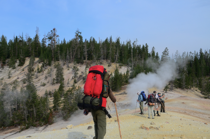 Camp and Hike Backpacking and guided hikes in Yellowstone, Montana, Wyoming & Utah.  See www.bigwildadventures.com for more