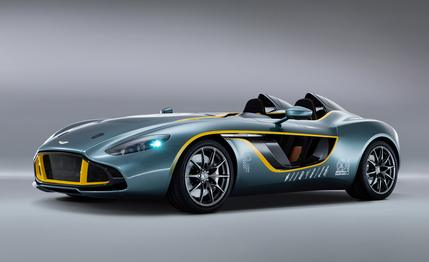 Auto and Cycle Aston Martin CC100 Speedster Concept