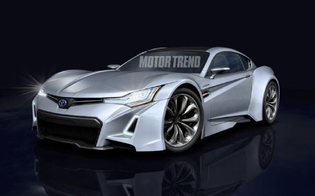 Auto and Cycle BMW-Toyota Sports Car Taking Shape.  Article by Peter Lyon on May 17, 2013