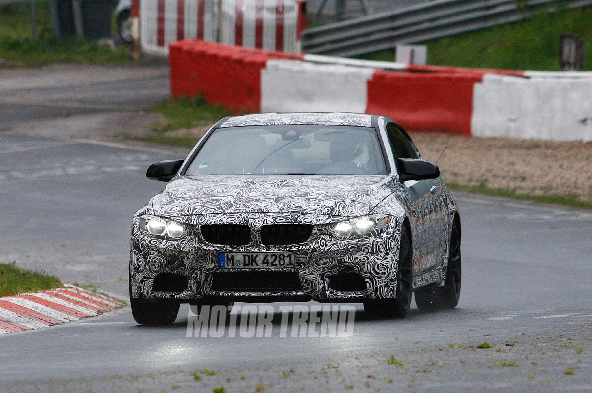 Auto and Cycle Spotted: Upcoming BMW M4 Testing at Nurburgring.  Article by Ben Timmins on May 22, 2013