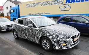 Auto and Cycle We Hear: 2015 Mazda3 Accidentally Revealed?  Article by Motor Trend Staff on May 22, 2013