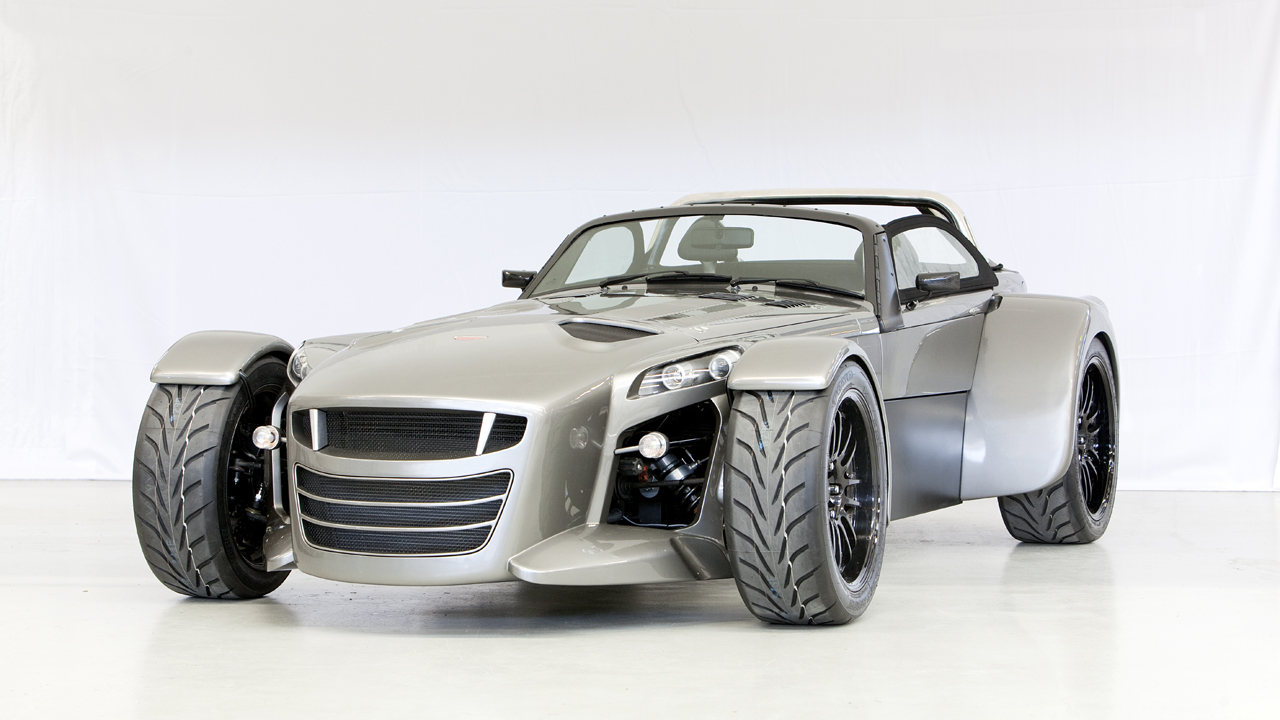 Auto and Cycle Donkervoort D8 GTO packs big Audi power in a tiny package.  Article by Christian Moe posted May 21, 2013