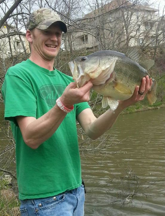 "Fishing Joe Dupont with a great report!  ""I caught this monster 9lb 2oz bass at a favorite pond of mine. I took my wife that day and I was doing well on a brown and black rattle trap. Most of the bass I caught that morning was between 4 and 5 pounds. My wife on t"