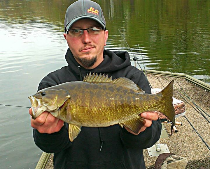 Fishing Jeff shauf:  Juanita river pa smallie caught on a rapala xr10. Gotta love these smallies...