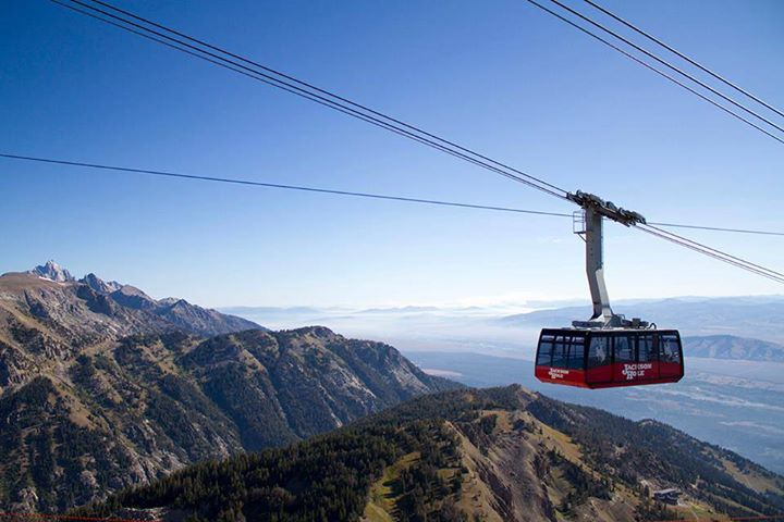Entertainment Starting this Sat, locals ride the Tram for FREE until June 14th! Thanks Jackson Hole Mountain Resort!