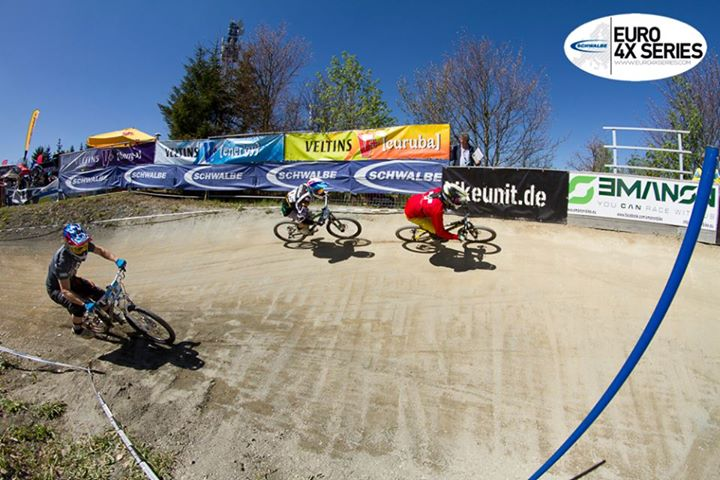 MTB Schwalbe Euro 4X Series round 1 – Winterberg , Germany .