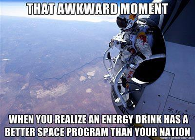 Extreme Red Bull or NASA