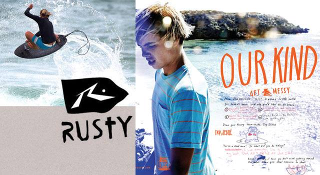 Surf Rusty apparel. New arrivals today at up to 60% off. http://bit.ly/10U2y0C