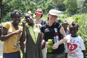 "Fitness ""My family & I were given a challenge to only drink water for a defined period of time and donate any money that we would normally use on coffees, sodas and sports drinks to digging clean water wells in Haiti""