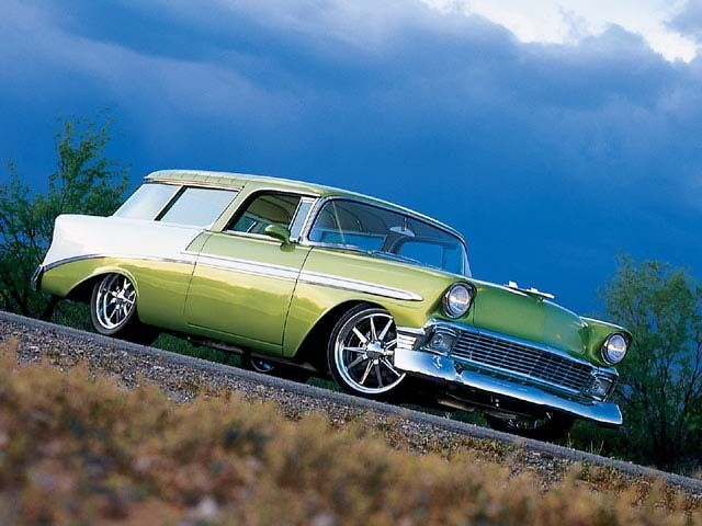 Auto and Cycle 1956 Chevrolet Nomad