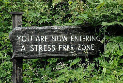 Camp and Hike Isn't this the truth?! What hiking or biking trails are your favorite stress free zones?