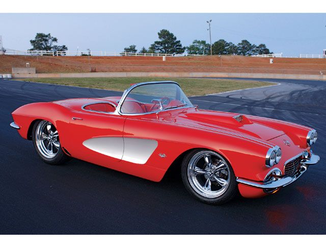 Auto and Cycle 1962 Chevy Corvette