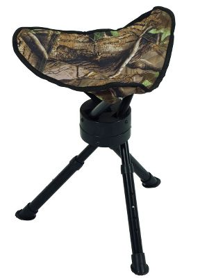 Hunting Stay comfortable in your blind with these handy, portable seats.Hunt from your ground blind in comfort with the padded seat and back, and be at the perfect height and position for a bow shot, with the AmeristepArchers Chair. The powder-coated aluminum frame and heavy-duty waterproof Durashell polyester fabric gives plenty of support and stability. Included gear pouch holds necessary items like extra calls or a camera. 17.75H x 18.75W x 13.25D. Imported. Wt: 5 lbs.Wt. capacity: 250 lbs.Camo pattern: Realtree XTRA Green. Color: Camo. Type: Chairs. - $59.99