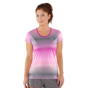 Fitness We took our love for lightweight to the next level with this T-shirt, but that doesn't mean it's lighter on performance. It still wicks sweat, dries fast, and stretches easily with every move. And it'll never lose shape like ordinary cotton T's. Super-soft, feather-light fabric eliminates the bulk for faster, lighter, cooler performancePower Mesh back panel dumps heat for enhanced breathability where you need it mostSignature Moisture Transport System wicks sweat to keep you dry & lightLightweight stretch construction improves mobility for full range of motionAnti-microbial technology eliminates odors to keep your gear fresher, longer50+ UPF protects your skin from sun damage & premature agingErgonomic flatlock seams allow you to move free without fear of chafingSlight drop-tail hem offers superior coverageReflective details3.2 oz. PolyesterImported - $26.99