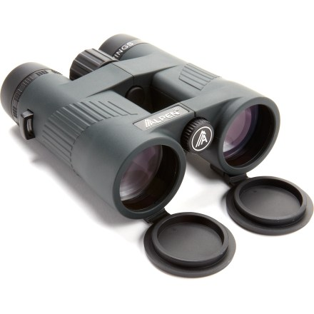 Camp and Hike The Alpen Wings 10 x 42 waterproof binoculars feature optics typically found on more expensive models, including fully multicoated lenses, PXA phase correction and BAK4 clarity. - $190.00