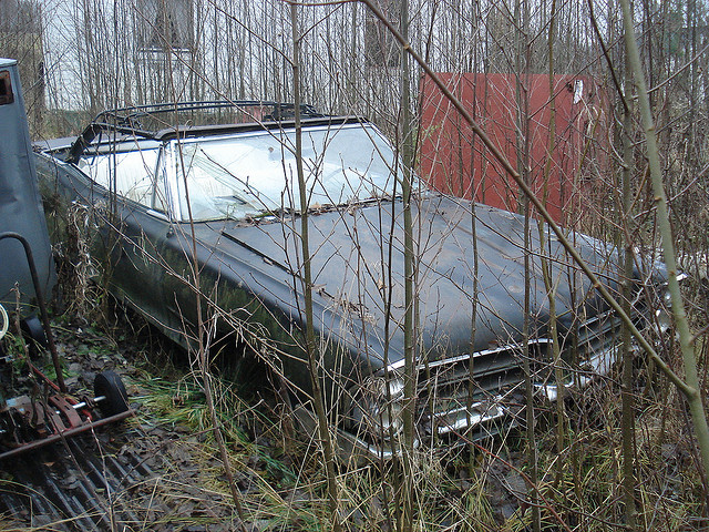 Auto and Cycle 1965 Pontiac Bonneville Convertible - should we restore this one??