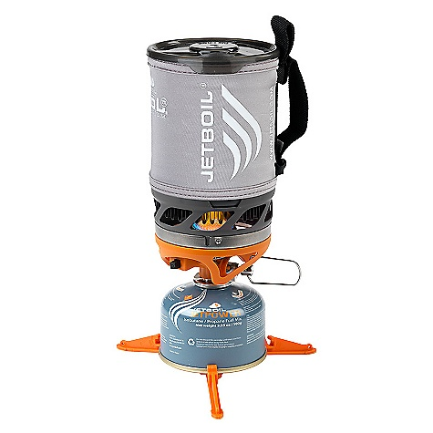 Free Shipping. Jetboil Sol Titanium Personal Cooking System DECENT FEATURES of the Jetboil Sol Titanium Personal Cooking System Jetboil Thermo-Regulate technology - consistent heat down to 20deg F (-6deg C) 0.8 Liter Titanium FluxRing(R) cup Insulating Cozy Convenient, reliable push-button igniter Pot support and Stabilizer tripod included Drink-through lid with pour spout and strainer Bottom cover doubles as a bowl and measuring cup Compatible with all Jetboil accessories You should know that the system weight does not include pot support, fuel stabilizer and measuring cup. Good to know. The SPECS Weight: 8.5 oz (240 g) - system weight does not include pot support, fuel stabilizer and measuring cup Volume: 27 oz (0.8 Liter) Boil Time: 16 oz (0.5 Liter) = 2 minutes, 15 seconds (avg over life of Jetpower canister) Water Boiled: 12 Liters per 100g Jetpower canister Dimensions: 4.1in. x 6.5in. (104 mm x 165 mm) - $149.95