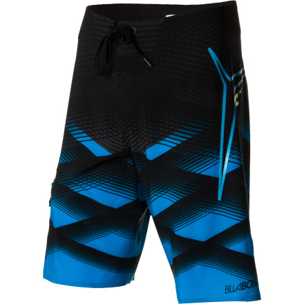 Surf The Billabong PX1 Transverse Board Shorts blend high-tech fabric with smart design to give you a great feel whether you're on your board all day, all week, or all summer. Billabong's most advanced fabric is extremely flexible so you can ride aggressively without your shorts getting in your way, and it gives these boardies a free feel that keeps you comfortable on intense surf days. - $99.45