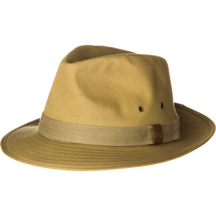 Sports Ditch the baseball cap and class up your summer with the Brixton Floyd Hat. Cool cotton twill teams up with classic fedora style to create a hat that takes any outfit to the next level. - $41.95