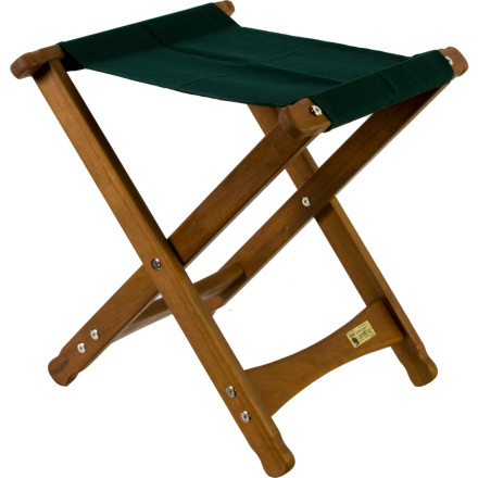 Camp and Hike When you dont really need, or have the space for, an elaborate camp lounger but just need somewhere to park your behind, pack along the Byer of Maine Comfort Stool. This lightweight folding stool is portable enough to accompany you anywhere, yet is also attractive enough to become a fixture on your cabins porch. Built from sustainably grown eucalyptus wood and constructed with mortise and tenon joinery, this sturdy stool will last through years of tailgate parties, soccer games, camping trips, and good times. - $39.95