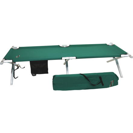 Camp and Hike Reinforced construction, easy set up, and supreme comfort make the heavy duty Byer Of Maine Maine Military Cot the first choice for anyone looking to sleep luxuriously away from home. - $99.95