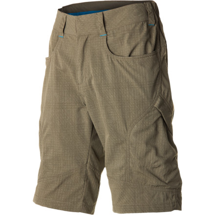 Climbing When you're hiking overgrown trails on muggy summer days, you need a lightweight short that can stand up to prickly bushes and tree limbs. Concerning those requirements, the Eider Men's Azucar II Short delivers. The Drycore Light Canvas features a plait construction for high abrasion resistance and will dry out in a flash after you spontaneously decide to take a dip in the lake. - $79.95