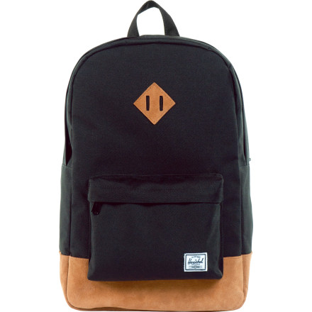 Camp and Hike Herschel Supply Heritage Suede Series Backpack - $79.95