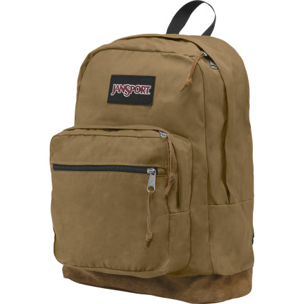 Camp and Hike It's called the Right Backpack because it has the features that you need without all the junk that you don't. Jansport's Women's Expressions model adds stylish patterns to make it more than a bag. Now it's a fashion accessory. - $59.95