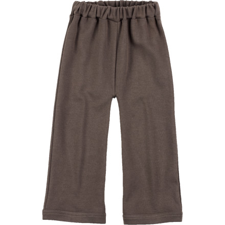 Camp and Hike The Kate Quinn Organics Toddler Boys' Straight Leg Pant offers him cozy comfort and warmth while you take him for a short hike in the baby carrier. - $17.95