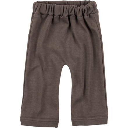 Snuggle your little guy up in the Kate Quinn Organics Infant Boys' Straight Leg Pant before you take him for a spin around town in the baby carrier. - $17.95