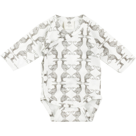 Snuggle him in the Kate Quinn Organic Infant Boys' Kimono Long-Sleeve Bodysuit, place him on the plush baby floor mat, and watch him entertain himself with his feet. - $19.95