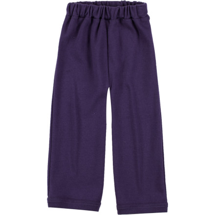 Help her pull up the Kate Quinn Organics Toddler Girls' Straight Leg Pant before you take her to the playground for some quality time outside. - $17.95
