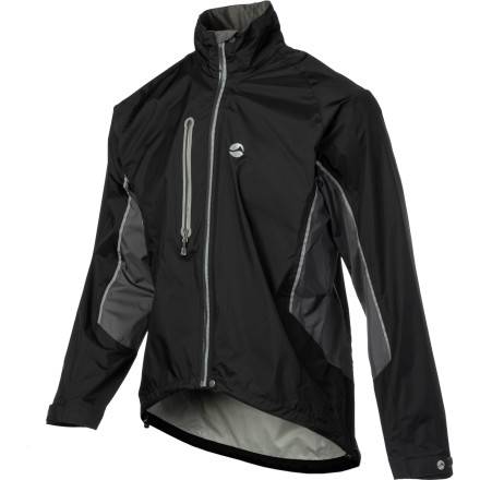 MTB Some folks think you're crazy for riding a bike in wet weather. Instead of calling you crazy, the folks at Montane simply decided to make the Men's Velocity Jacket. The jacket features a bike-specific cut with a drop tail and extended arms and Pertex Shield fabric for low weight, high breathability, and waterproof protection. Add in the rear storage pocket and 360-degree reflective details, and riding in the rain seems a lot less crazy. - $139.27