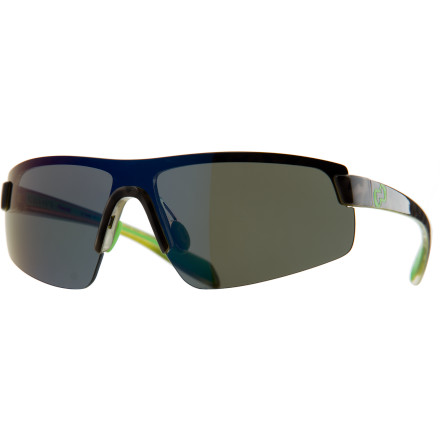 Camp and Hike Get slick, low-profile protection with the light-as-a-feather Native Eyewear Lynx Polarized Sunglasses. These trim shades keep it simple yet stylish with a minimal frame that still provides temperature- and impact-resistant strength and a single lens that fends off glare, UV, and infrared light. A simple interchangeable lens system and an included low-light lens give you any-day wearability, and Flex Metal adjustable nose pads and Mastoid Temple Grip keep the glasses on your head with a secure fit. - $158.95