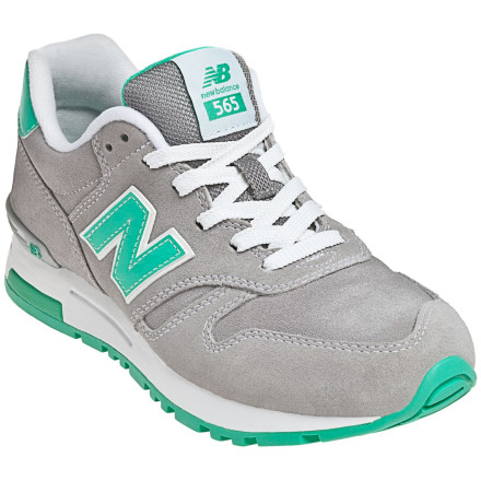Fitness Look no further than the New Balance Women's WL565 Running Shoes for a classic, athletic look with cushy comfort when you commute to work, spend a day shopping, or sightsee with the family. These comfy kicks feature a traditional New Balance look and the comfort and support New Balance is known for. - $69.95
