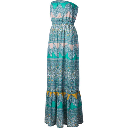 Whether you're on your way to a fireworks show or an air race, wear the O'Neill Women's Aven Maxi Dress and stay cool and comfortable. - $59.45