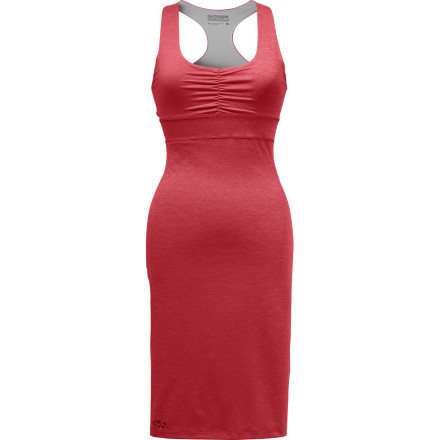From lazy Sunday afternoons to a quiet dinner at your favorite tapas bar, turn to the clean lines and soft-spoken style of the Outdoor Research Women's Trance Dress. The soft polyester breathes and dries quickly to keep comfort at a premium while generous fabric stretch mirrors each and every move you make. - $74.95