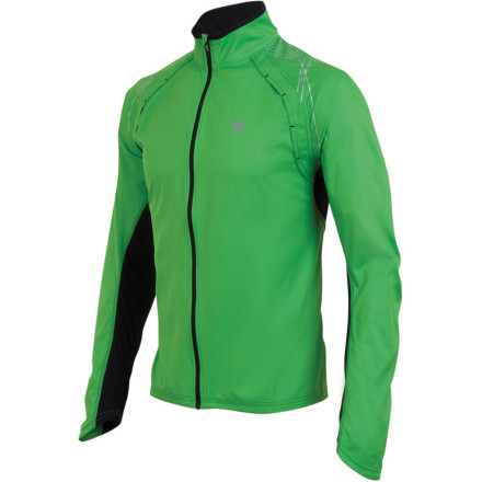 Fitness When it's chilly out but you don't want to stare at the walls in the gym, get outdoors wearing the Pearl Izumi Men's Infinity Jacket. This lightweight wind jacket keeps the chilly breezes from biting but features plenty of venting and breathable side panels for when you start to heat up. Zip it on and head out for some fresh air with your own soundtrack pumping from the sleeve pocket instead of stinky gym air and piped-in classic rock. - $79.95