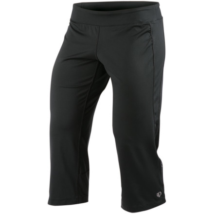Fitness Meet your new any-workout pant, the Pearl Izumi Women's Low Rise Aurora Capri Pant. A relaxed cut, wide low waistband, and stretchy Select Transer fabric keep you moving easily through a run, circuit, or climb, or yoga sequence. - $38.47