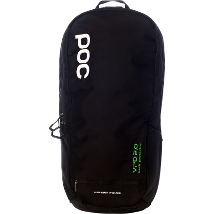 MTB POC has created two different spine protection packs --Both include a removable VPD spine protector, and both are hydration-compatible. The difference between the two is size. The VPD 2.0 Spine Pack 16 is the smaller of the two, at 16 liters.Generally speaking, there are two types of body armor: soft, flexible armor that's designed to be comfortable, and hard-shell armor that's designed to absorb huge impacts. As logic would dictate, the soft stuff doesn't protect as well and the hard stuff isn't as comfortable. Well, now there's a third kind of armorPoc VPD. As far as we can tell, it's magic. VPD is a soft, flexible foam material that conforms to the contours of your body. However, in the event of an impact, it hardens instantly to provide the protection of a hard shell. It truly is the best of both worlds. Not only that, but VPD is a true multi-impact armor, so the protection level during your 20th crash is the same as it was during your first. This is especially important because a fall can often involve several impacts. You don't want your protection level to drop off over the course of a fall, because that last hit might be the hardest. VPD is lightweight, soft, and flexible, and it's some of the most comfortable armor that we've tried. Another reason that VPD is so comfortable is efficient airflow. Poc riddles its VPD material with vents so air flows freely in and out to keep your skin dry and cool, so you don't roast in the heat of the summer and get that nasty, clammy feeling under your pads. The 16 liter backpack is built with all-mountain or freeriders in mind. The helmet pouch fits a full-face. The pack is fully hydration-compatible. A heavy duty elastic waistband keeps things stable while keeping it comfortable. Organization is made easy with a waist band pocket, a padded pocket for your phone or MP3 player, and low-profile elastic mesh pockets. - $174.95