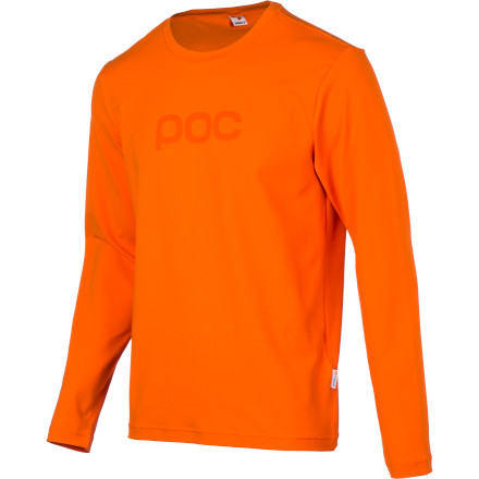 Fitness POC designed the Trail Jersey for high-performance XC and all-mountain riding, but with a look that's right at home in class or in the local pub. The Trail's blend of performance and street smarts will make it one of the most versatile pieces of clothing in your closet. The Trail Jersey is made with a stretchy nylon and spandex blend fabric. The synthetic material pulls moisture away from your skin to keep you dry and comfortable. The fabric is also extremely breathable, so it allows water vapor to escape to eliminate the clammy feeling that some jerseys give you after some time in the saddle. It's so soft it feels like cotton, and is treated with Polygiene for permanent odor-fighting properties. The POC Trail Jersey comes in sizes S through XL and is available in Uranium Black, Phosphorous Blue, and Iron Orange. - $69.95
