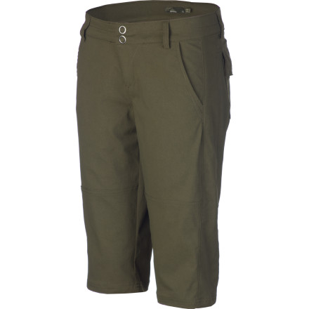 When you're out on the trail or the crag, you'll definitely appreciate the technical fabric in the prAna Women's Iris Knicker. The stretch woven nylon won't hinder you as you high-step and stretch, and when the dust settles you can enjoy this knicker's streamlined, sophisticated style. - $68.95