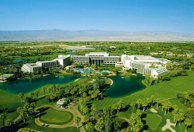 Golf The JW Marriott Desert Springs has about every luxury you can imagine...and golf.  Plan you winter golf trip at: desertspringsresort.com
