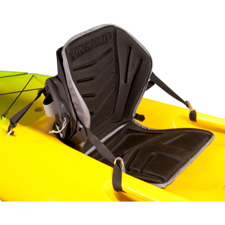 Kayak and Canoe Incredible multi-day paddling trips require an incredibly comfortable seat, and the Sea To Summit Solution Cruiser Kayak Seat provides just that for your sit-on-top kayak. The mid-back height provides good support while still allowing your shoulders to rotate freely and multiple pockets keep your essential gear close at hand. Plus, the seat doubles as a cushy camp seat after coming ashore. - $149.95