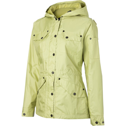 Fitness The city-slicker (no pun intended) cousin of your outdoorsy rain jacket, the Sierra Designs Emissary Parka delivers wet-weather protection in a stylish package. It features the same Hurricane technology found in Sierra Design's technical wear, but with a refined silhouette and streamlined design. Pull it on whenever yucky weather is on the horizon'or even when it isn't. - $111.27